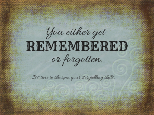 Remembered-or-forgotten