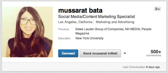 Mussarat-LinkedIn-Profile