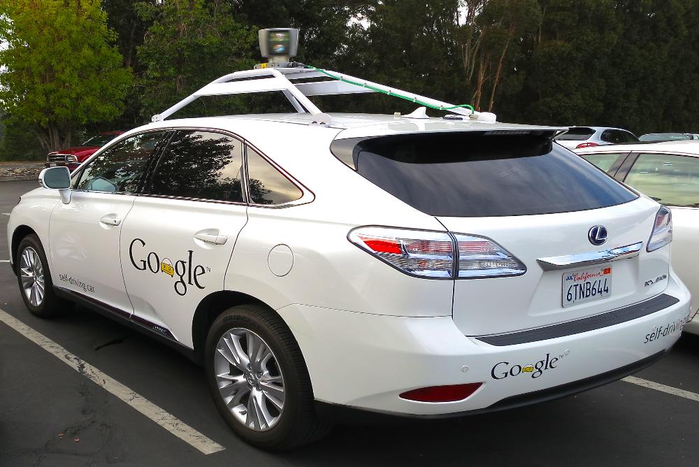 Google-Driverless-Lexus-Test