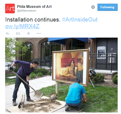 Philadelphia Museum of Art Twitter | @philamuseum