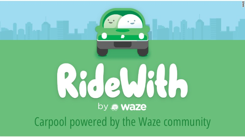 RideWith service operated by Waze