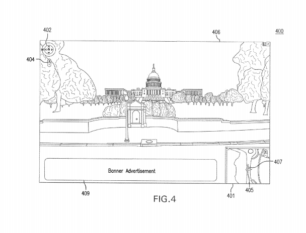 Google Street View Patent