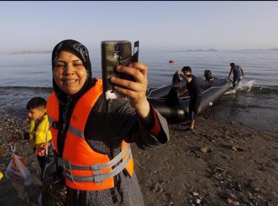 Refugee Selfie